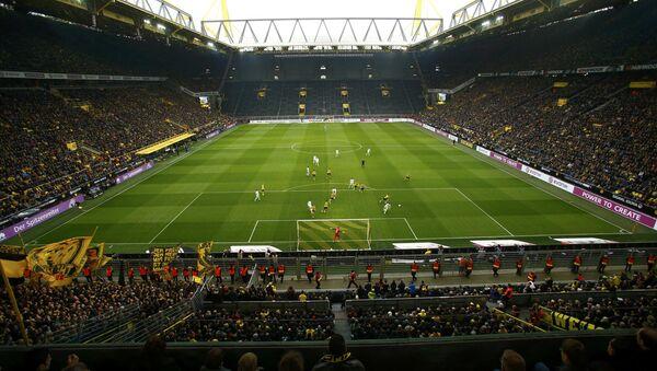Football Soccer - Borussia Dortmund v VFL Wolfsburg - German Bundesliga - Signal Iduna Park stadium, Germany - 18/02/17 - Sputnik International