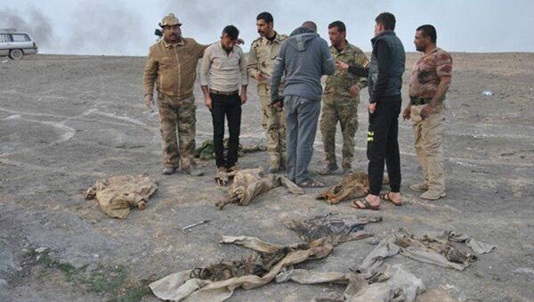 Mass grave in the south of Mosul - Sputnik International
