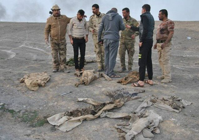 Mass grave in the south of Mosul