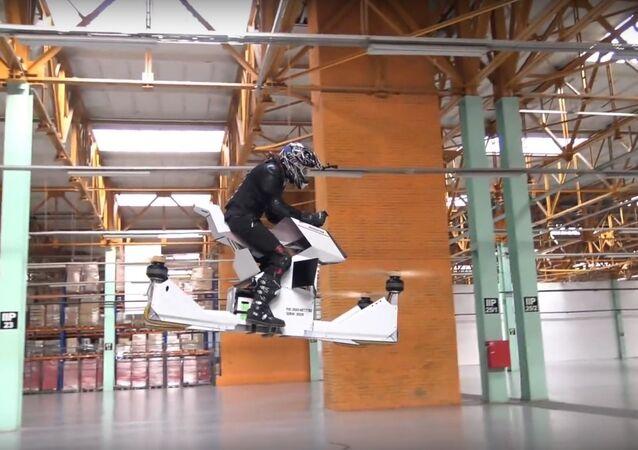 Hoverbike Scorpion-3 TRAILER 2017