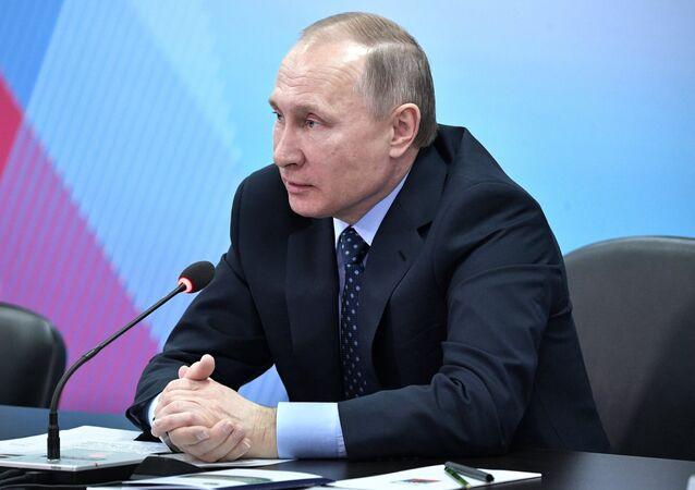 President Vladimir Putin's working visit to Krasnoyarsk
