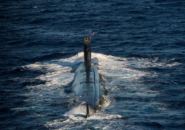 Los Angeles-class attack submarine USS Santa Fe (SSN 763) (File)