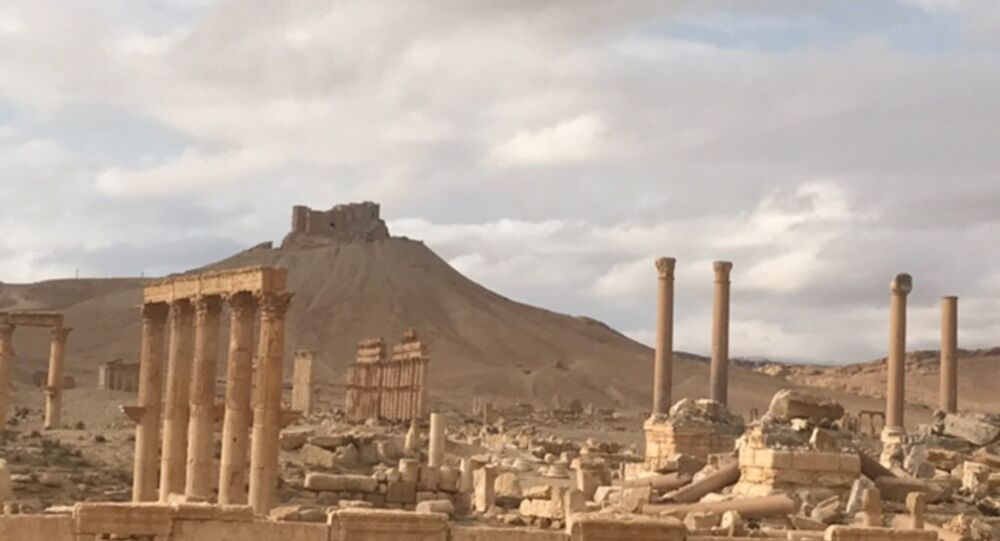 Palmyra recaptured by Syrian Arab Army backed by Russian Air Force