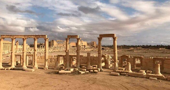 Palmyra liberated.