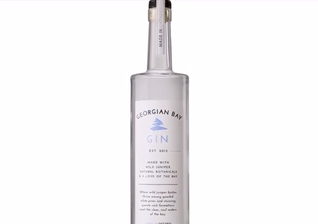 Georgian Bay Gin, a product from the same distillery that produced the recalled Georgian Bay Vodka.