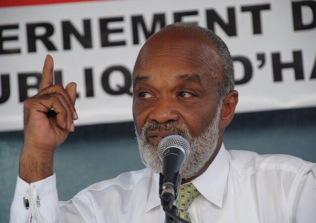 Ex-Haitan President Rene Preval