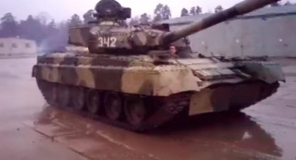 Drift the T-80UD