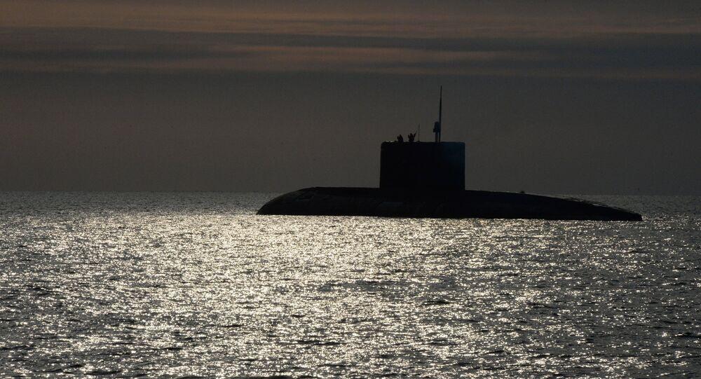 Submarine of the Varshavyanka class