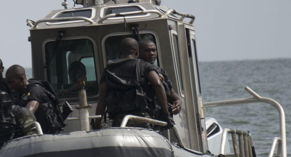 Nigerian naval police. (File)