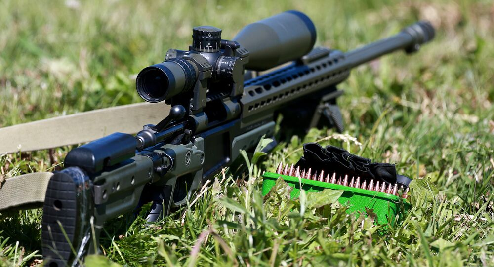 A sniper rifle. (File)