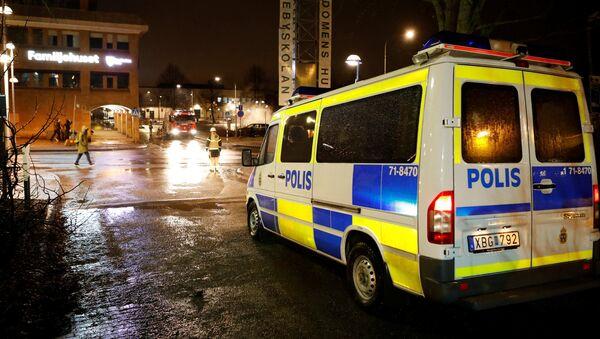 A police car in Sweden - Sputnik International