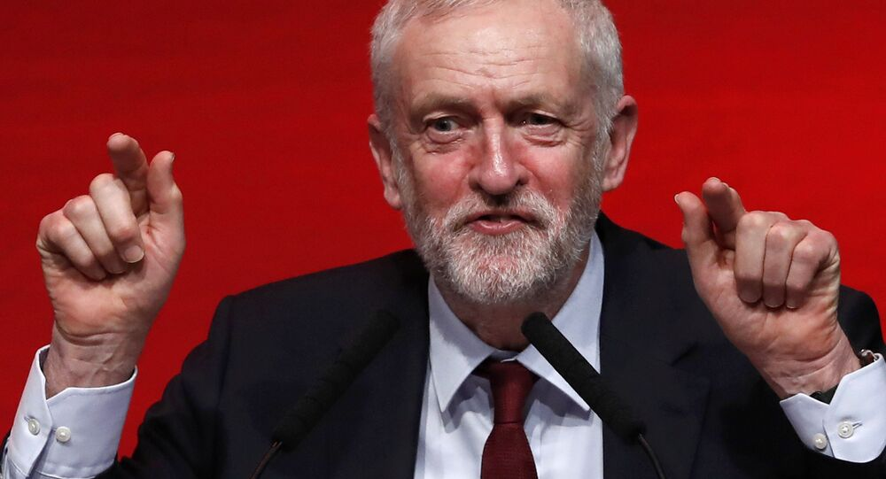 The leader of Britain's opposition Labour Party, Jeremy Corbyn, speaks at the Scottish Labour Party Spring Conference in Perth, Scotland February 26, 2017.