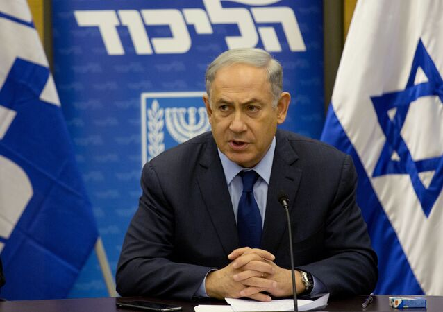 Israel's Prime Minister Benjamin Netanyahu attends his Likud party session in the Knesset, Israel's parliament in Jerusalem. File photo
