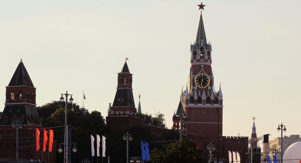 The Moscow Kremlin towers. (File)