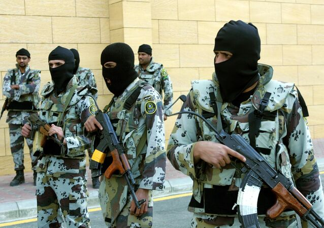Saudi troops of the special forces (File)