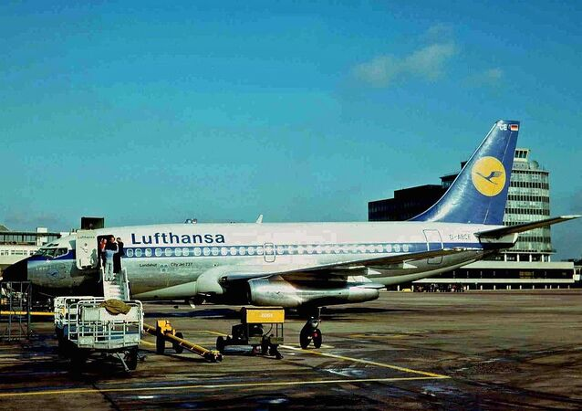 Landshut, the very aircraft hijacked to Mogadishu on 13 October 1977 as Flight LH181. Later stormed by GSG 9 and all 86 passengers were rescued