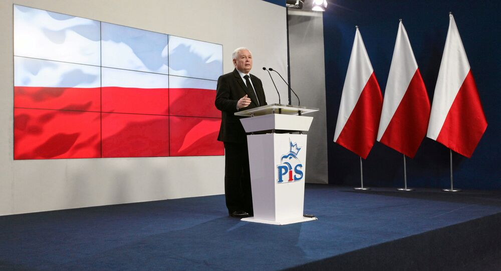 Jaroslaw Kaczynski, leader of Law and Justice (PiS) speaks during news conference in Warsaw, February 28, 2017.