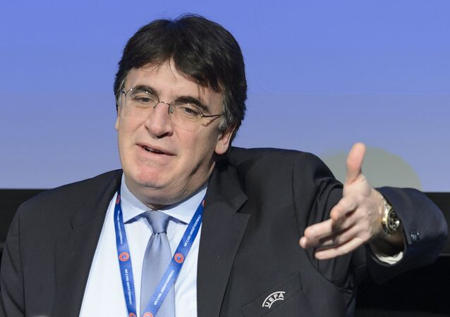 UEFA deputy General Secretary Theodore Theodoridis