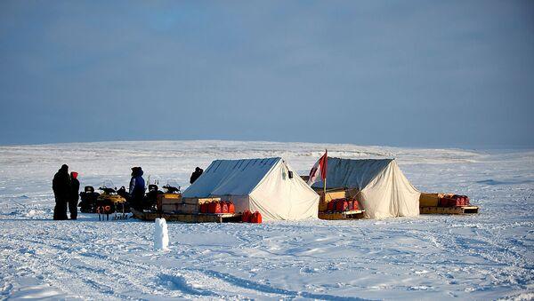 Canadian Rangers Training Camp in Alert, Nunavut (Canada) - Sputnik International