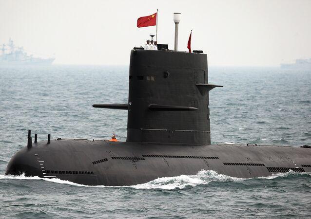 Chinese Navy submarine (file)