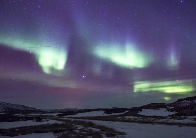 A Timelapse of the Northern Lights in Northern Iceland - 4K