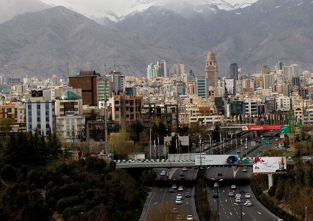 A general view of northern Tehran taken from Tabi'at (Nature) bridge on Modares highway. (File)