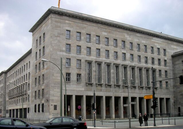 Federal Ministry of Finance in Germany. (File)