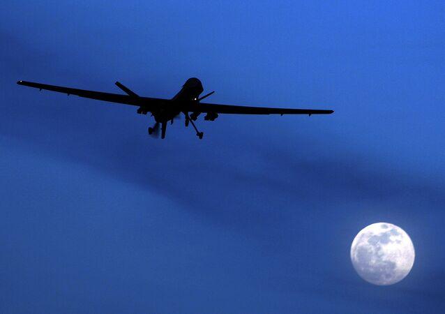 Unmanned U.S. Predator drone. (File)