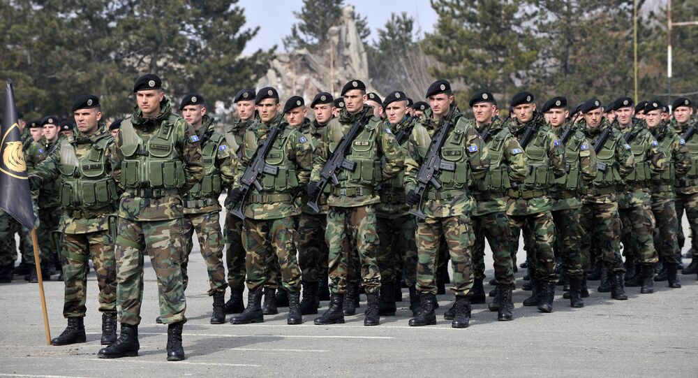 Members of the Kosovo Security Force. File photo