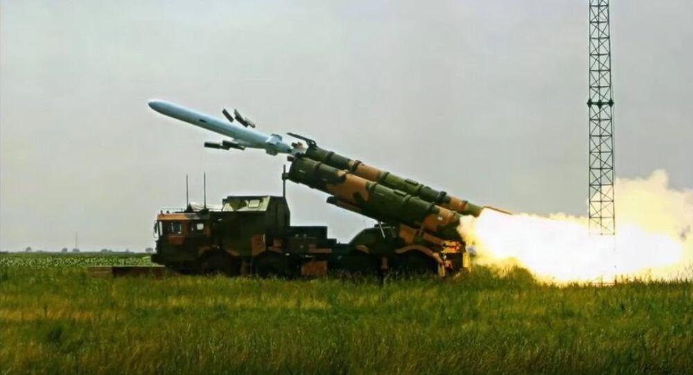 Pakistan Test Fires Anti Ship Missile (File)