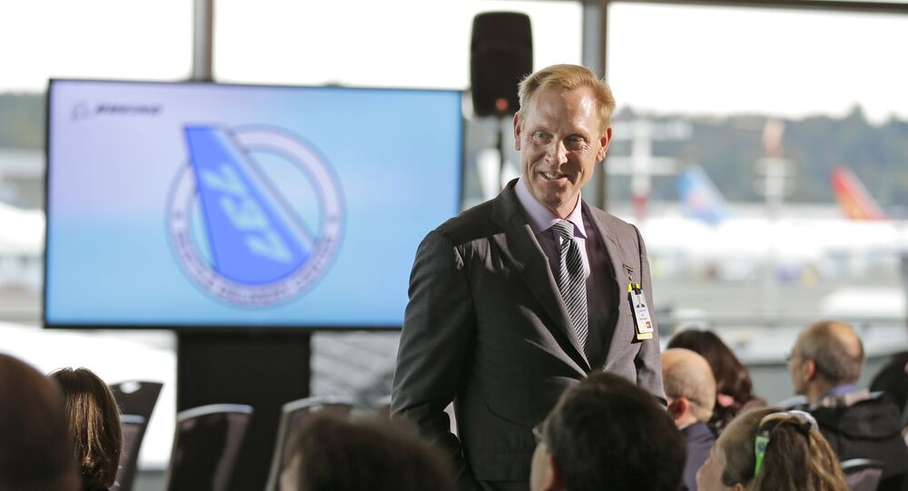 Patrick  Shanahan  Monday, Oct. 19, 2015, at Boeing Field in Seattle