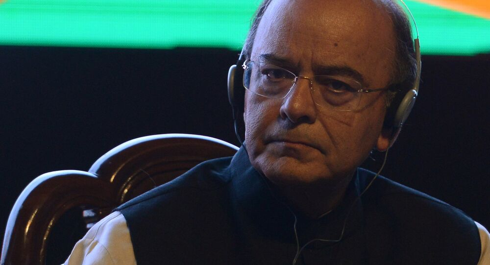 Minister of Defence, Finance and Corporate Affairs of India Arun Jaitley.