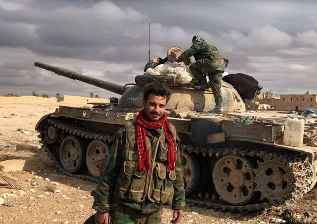 Syrian soldiers. File photo