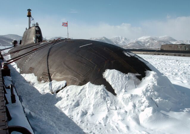 A Russian nuclear-powered attack submarine