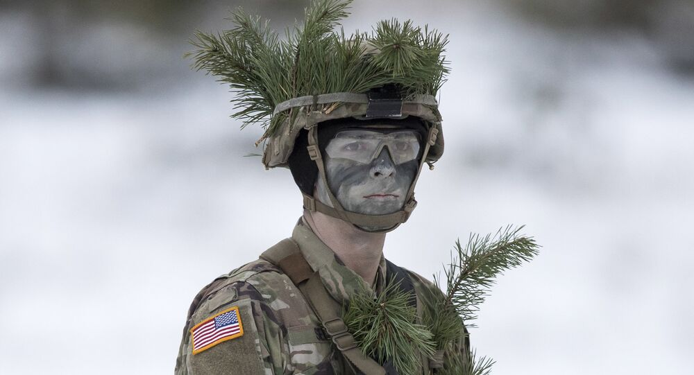 A soldier from the US Army (File)