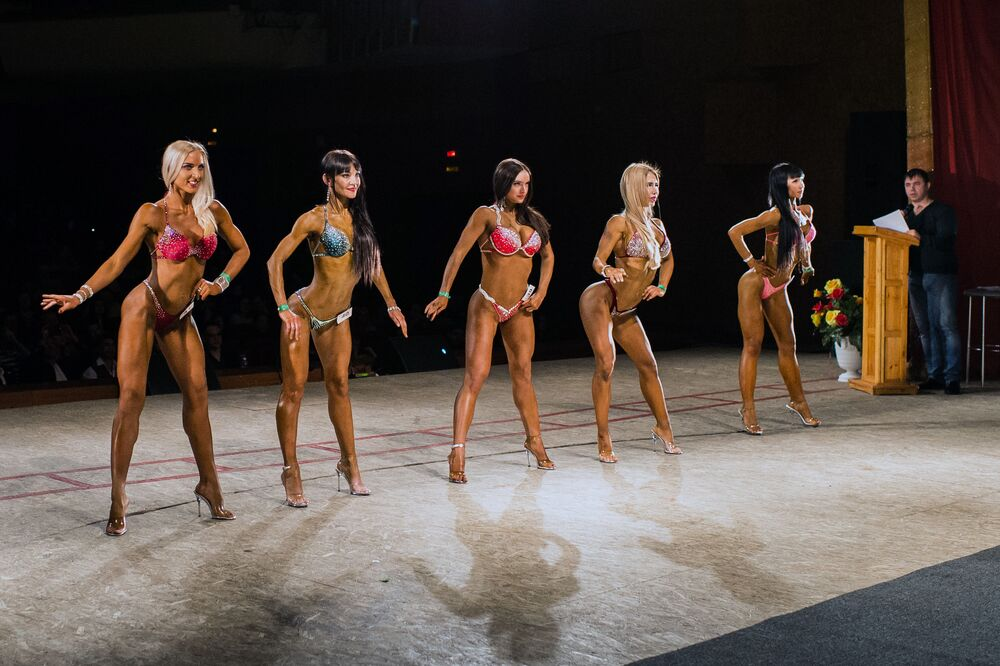 Demi Gods of Fitness: Body Building Championship Held in Russia