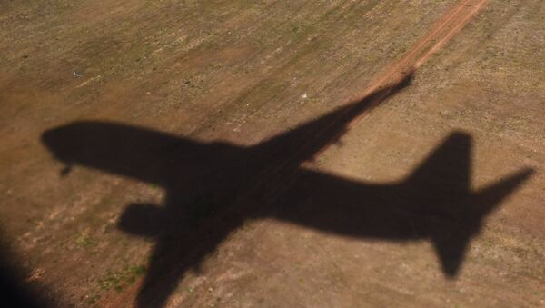 The shadow of a flying plane. (File) - Sputnik International