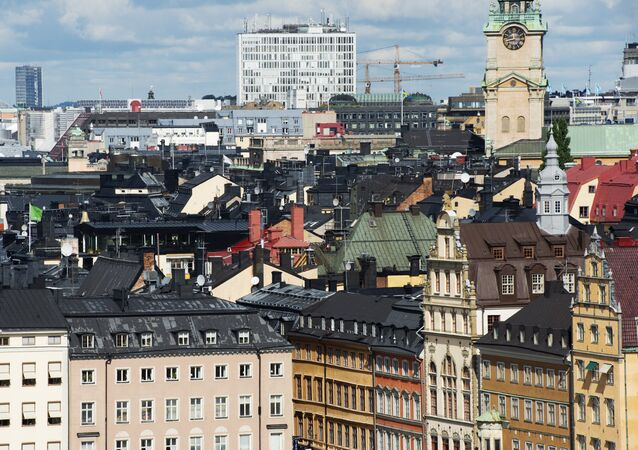 A view of buildings in Stockholm's Old Town