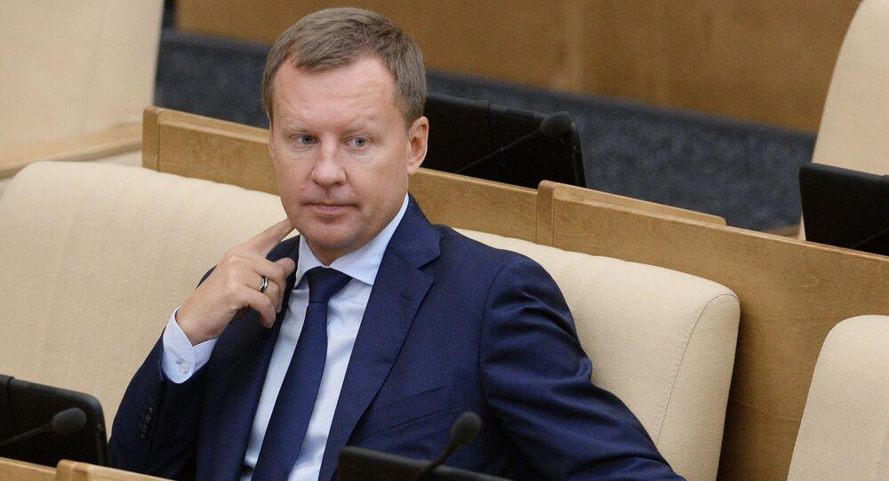 Parliament member Denis Voronenkov. (File)