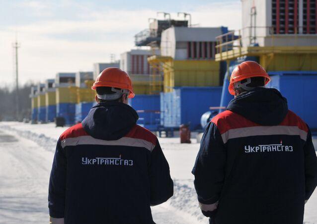 Bilche-Volytsko-Uherske underground gas storage facility in Ukraine