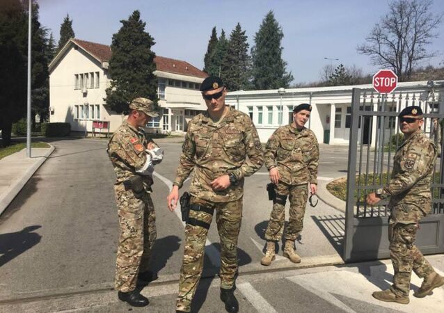 Soldiers prevented Montenegrin citizens from honoring the first victim of NATO aggression in 1999