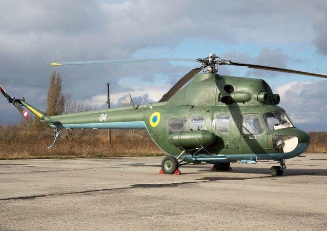 Ukrainian Mi-2 helicopter