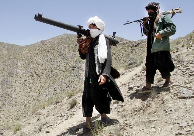 Taliban militants. File photo