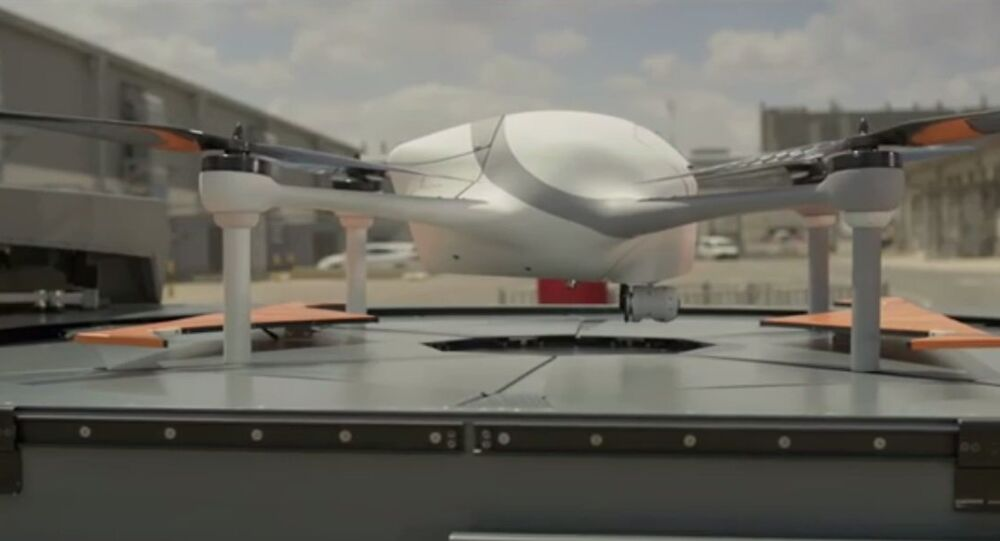 Optimus, an automated drone that can function without human control.