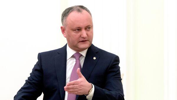 President of Moldova Igor Dodon - Sputnik International