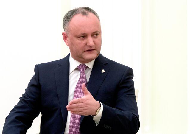 President of Moldova Igor Dodon