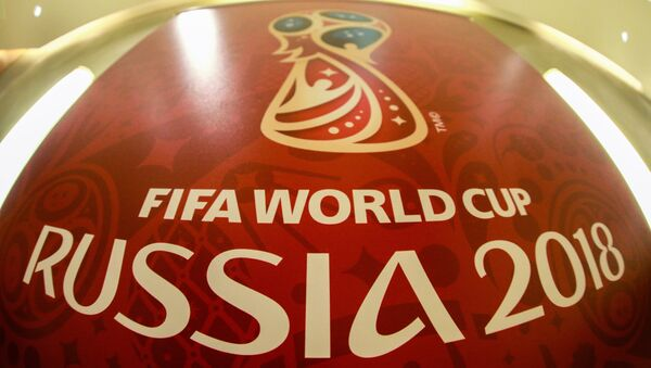 2018 FIFA World Cup official logo - Sputnik International