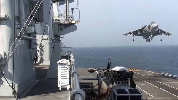 US Marines Harrier - Sputnik International