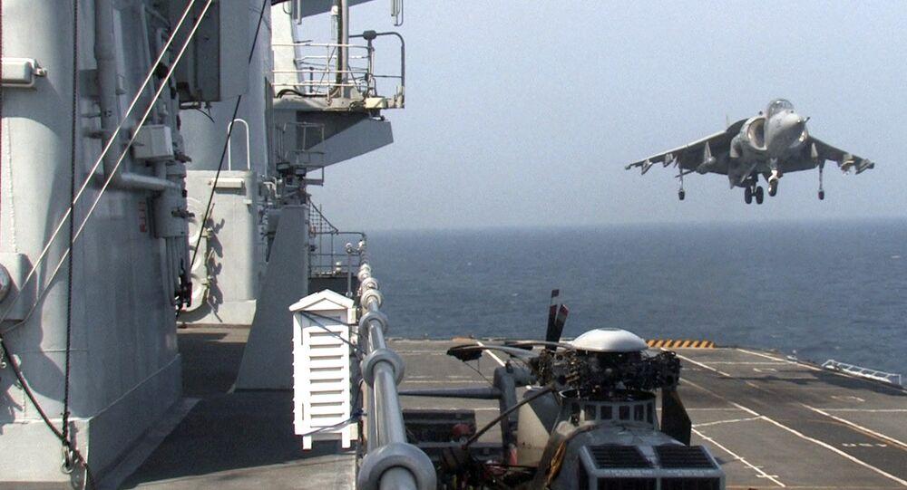 US Marines Harrier