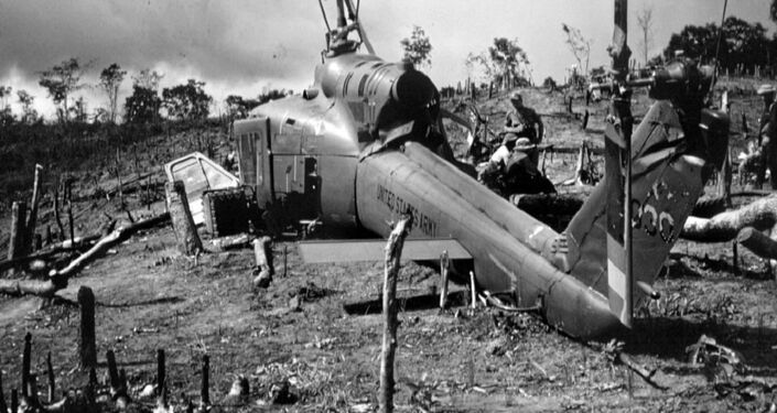 A downed US plane